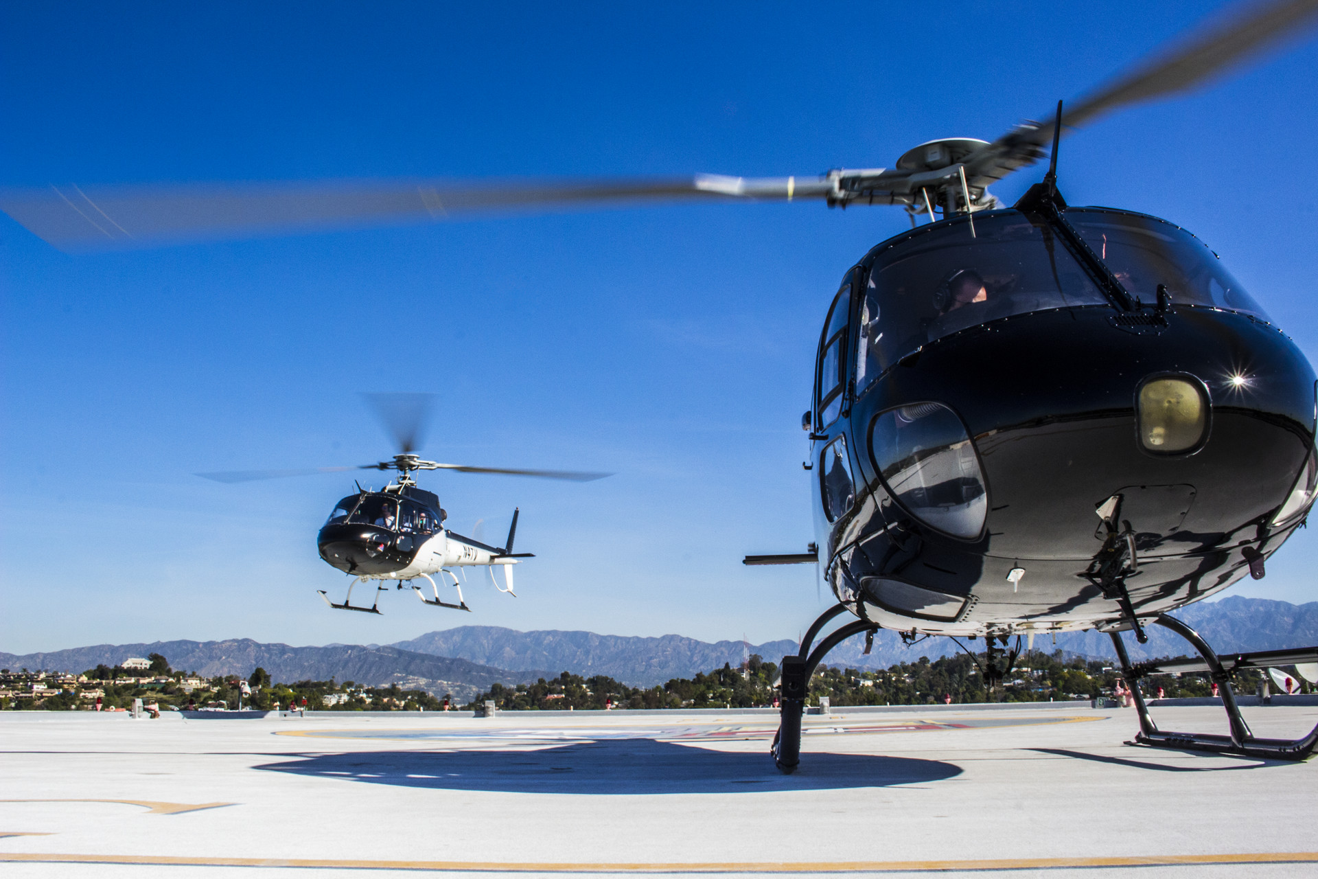 Helicopter Tours Los Angeles Charter Rides La