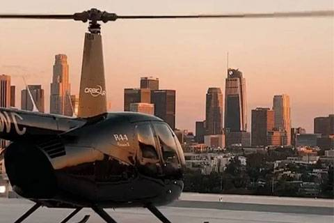 LA's only Downtown Landing Helicopter Tour