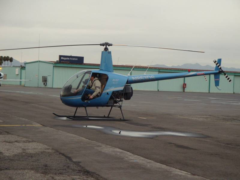 Helicopter Private Pilot Certificate