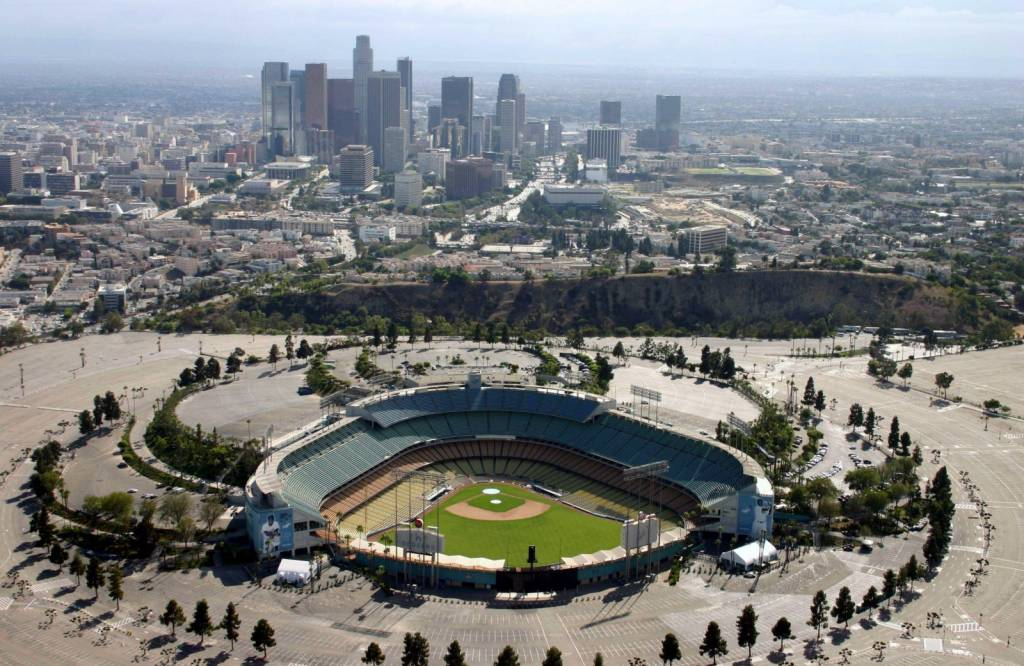 Photo Gallery - Aerial Tour Pictures - Dodger Stadium