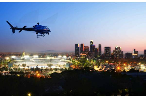 Astar over Dodger Stadium