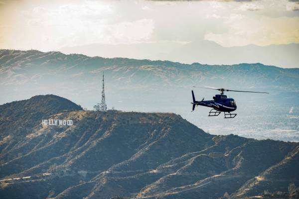 Private Romantic Sunset Helicopter Tour Package