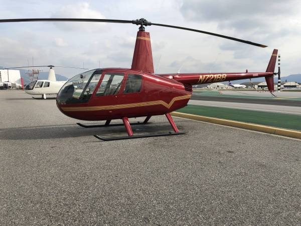 Discounted Empty Leg Helicopter - Burbank Airport to Disneyland