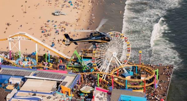 EC130 Santa Monica Pier 2