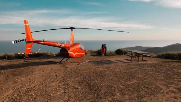 Helicopter mountain tour