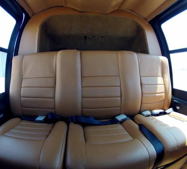 Jet Ranger Back Seat