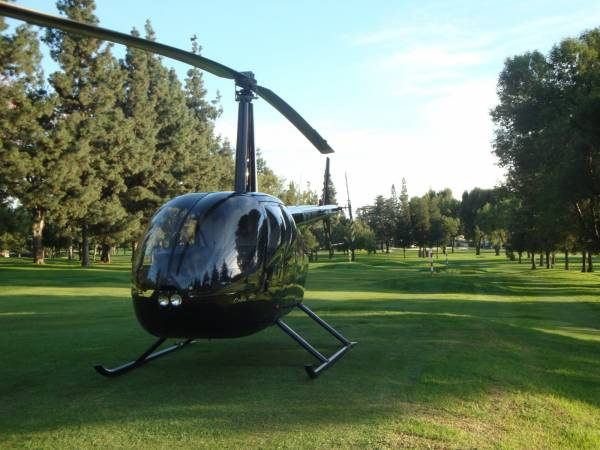 R44 charter helicopter