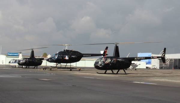 Tourist Groups Welcome - Los Angeles Helicopter Tour