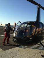 Helicopter Tour Testimonial from Guest, Lisamar