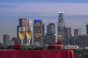 Tours - Valentine's Day Specials - LA's ONLY Downtown Landing Helicopter Tour for Two