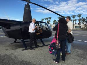 Helicopter Tour and Lunch at Waypoint Cafe