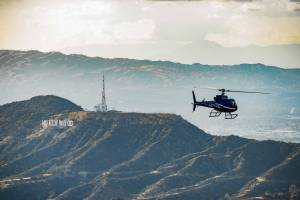 Scenic Air Only Tours - Burbank Airport Departures - Private Romantic Sunset Helicopter Tour