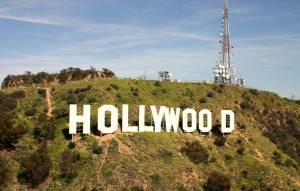 Hollywood Sign by Helicopter