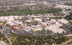 Universal Studios by helicopter