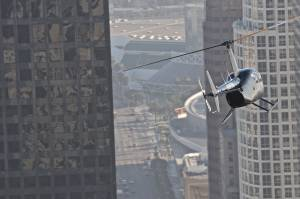 Helicopter Downtown LA