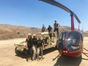 Tours - Helicopter in to the Gun Range