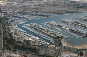Marina Del Rey aerial