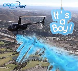 Charter - Special Ops - Helicopter Gender Reveal