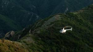helicopter tour Malibu Mountain