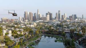 Downtown Los Angeles helicopter tour