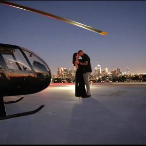Romantic city helicopter tour Los Angeles