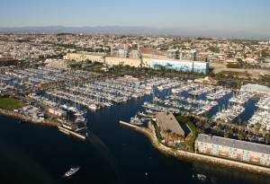 Marina Del Rey by helicopter tour