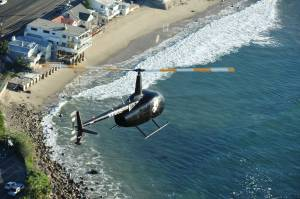 Malibu Coast by Helicopter