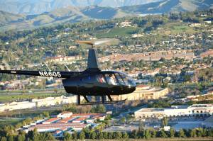 Helicopter Charter winery