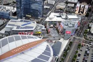 Charter - Popular Destinations - Charter a Helicopter to Staples Center Los Angeles!