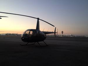 LAX private helicopter terminal