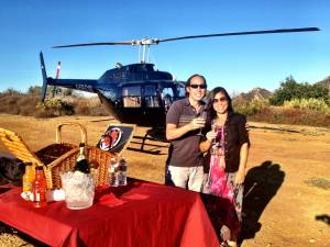 Tours - LA's Only Helicopter Mountain Top Landing Tour - Adventure Package