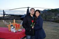 Helicopter Tour Testimonial from Guests, Marlon & Nathalie