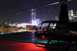 Charter Helicopter Services - Charter a Helicopter to Downtown LA for events at LA LIVE