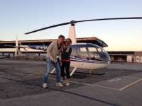 Helicopter Tour Testimonial from Guests, Giorgio and Veronica