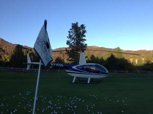 Production - Helicopter Golf Ball Drop