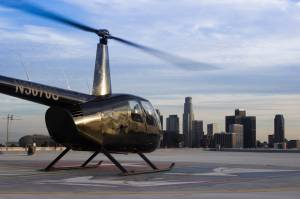 R44 Helicopter helipad